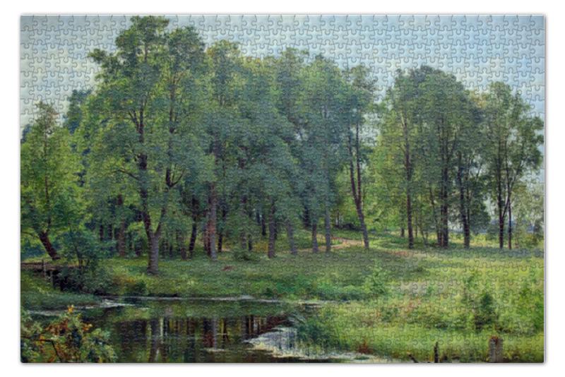 Пазл 73.5 x 48.8 (1000 элементов) Printio В парке (иван шишкин)
