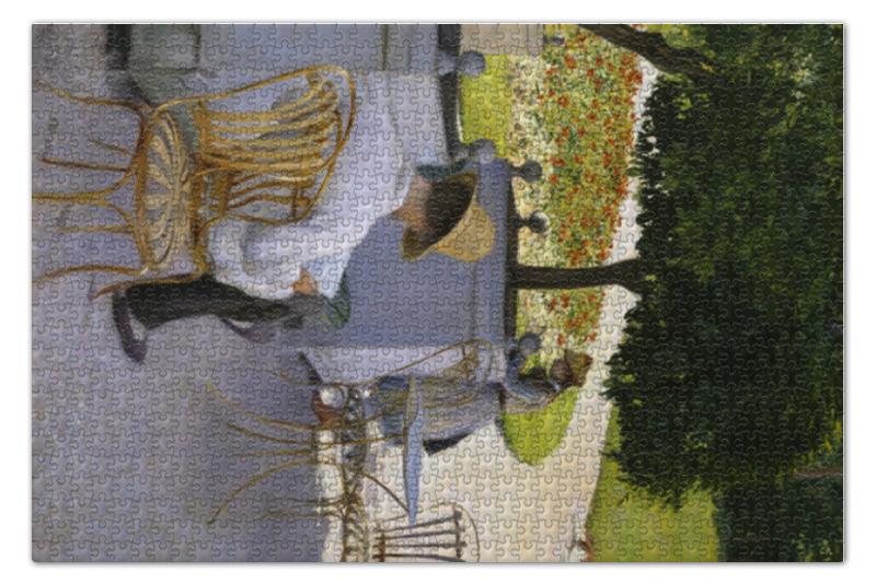 Пазл 73.5 x 48.8 (1000 элементов) Printio Апельсиновые деревья (картина кайботта) пазл 73 5 x 48 8 1000 элементов printio девятый вал картина айвазовского