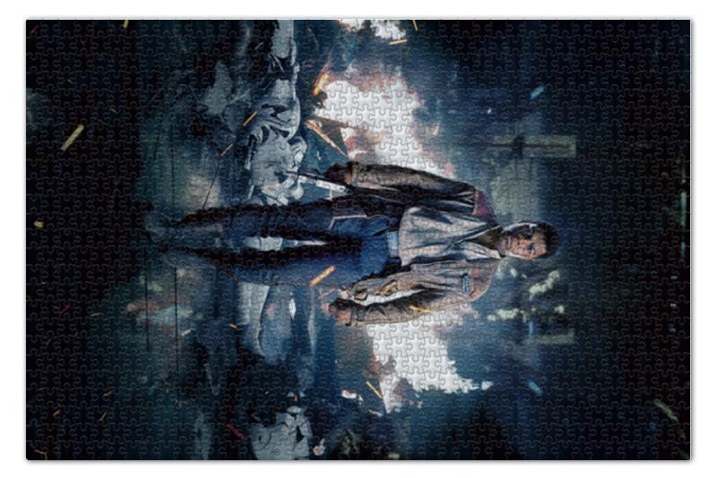 Пазл 73.5 x 48.8 (1000 элементов) Printio Звездные войны - финн цена