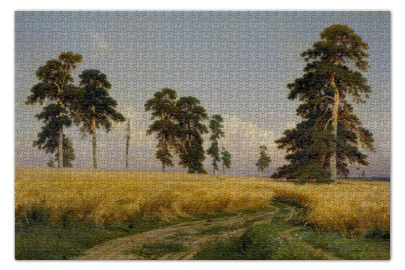 Пазл 73.5 x 48.8 (1000 элементов) Printio Рожь (картина шишкина) пазл 73 5 x 48 8 1000 элементов printio сад земных наслаждений