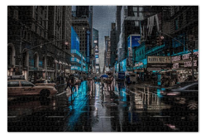Пазл 73.5 x 48.8 (1000 элементов) Printio Нью-йорк clementoni пазл платиновая коллекция нью йорк 1000
