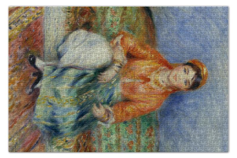 Пазл 73.5 x 48.8 (1000 элементов) Printio Алжирская девушка (картина ренуара) пазл 73 5 x 48 8 1000 элементов printio открытая дверь в сад картина сомова