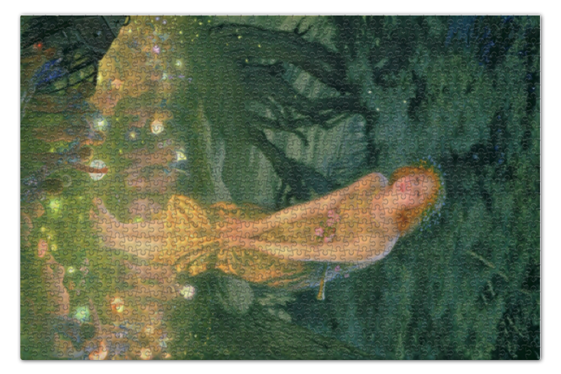 Пазл 73.5 x 48.8 (1000 элементов) Printio Летнее солнцестояние - midsummer eve футболка с полной запечаткой мужская printio летнее солнцестояние эдвард роберт хьюз