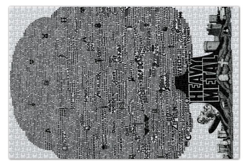 Printio Heavy metal tree пазл 73 5 x 48 8 1000 элементов printio в парке иван шишкин
