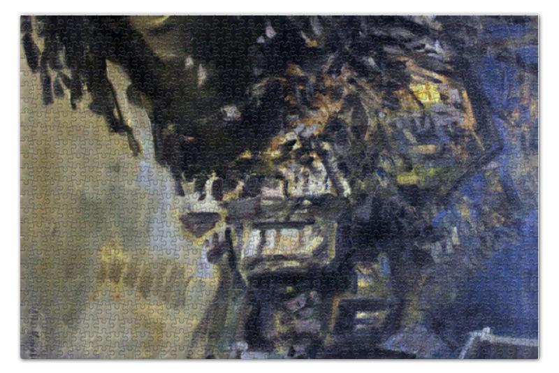 Пазл 73.5 x 48.8 (1000 элементов) Printio Ночной этюд (константин коровин) сергей коровин изобретение оружия