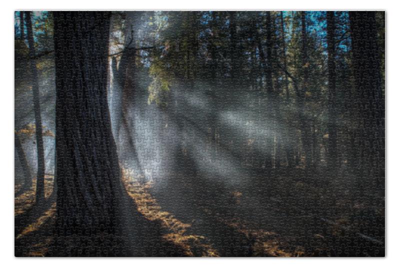 Пазл 73.5 x 48.8 (1000 элементов) Printio Лес пазл 73 5 x 48 8 1000 элементов printio зимний лес