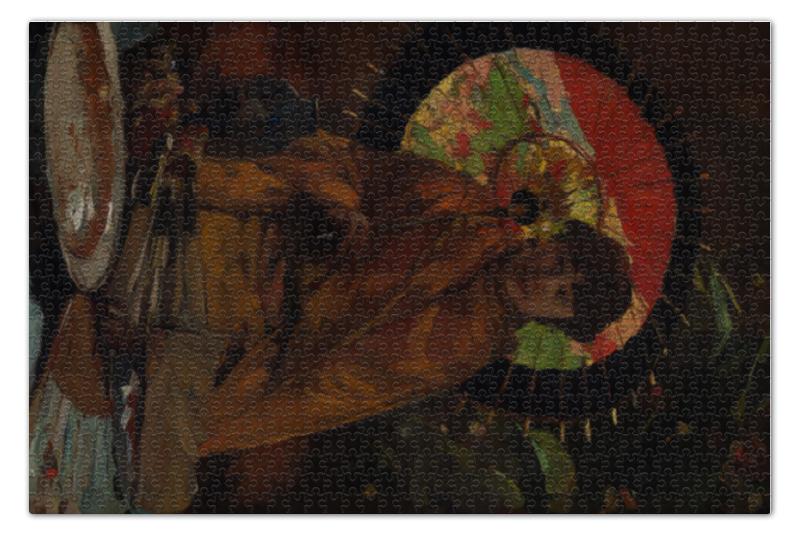 Пазл 73.5 x 48.8 (1000 элементов) Printio Девушка с японским зонтиком (виллем де зварт) рюкзак с полной запечаткой printio девушка с японским зонтиком виллем де зварт