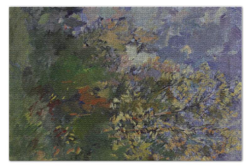 Пазл 73.5 x 48.8 (1000 элементов) Printio Кусты пазл 73 5 x 48 8 1000 элементов printio сад художника в аржантее клод моне