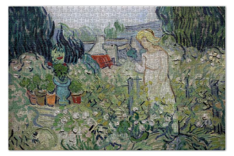 Printio Маргарита гаше в саду (винсент ван гог) пазл 73 5 x 48 8 1000 элементов printio добрый самаритянин винсент ван гог
