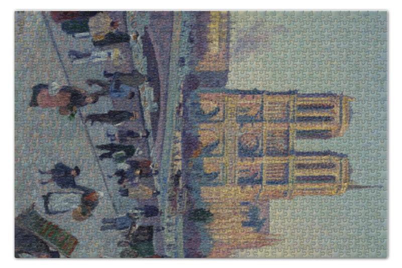Пазл 73.5 x 48.8 (1000 элементов) Printio Набережная сен-мишель и нотр дам