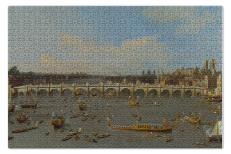 Пазл 73.5 x 48.8 (1000 элементов) Printio Вестминстерский мост в лондоне