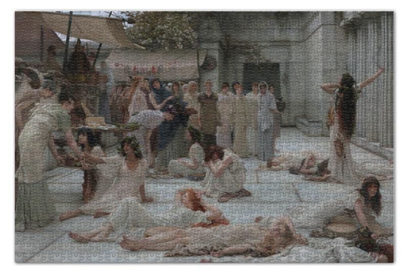 Printio Женщины амфисса (лоуренс альма-тадема) пазл 73 5 x 48 8 1000 элементов printio останкино