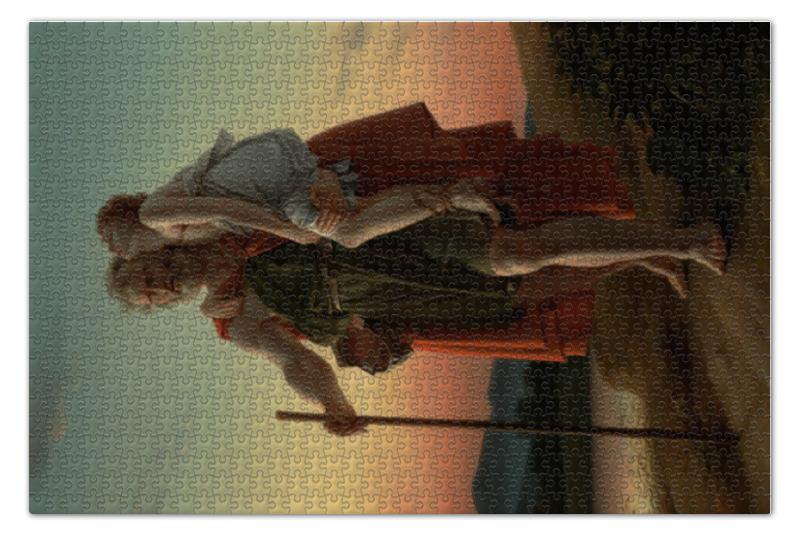 Пазл 73.5 x 48.8 (1000 элементов) Printio Велизарий (франсуа жерар) рюкзак с полной запечаткой printio амур и психея франсуа жерар