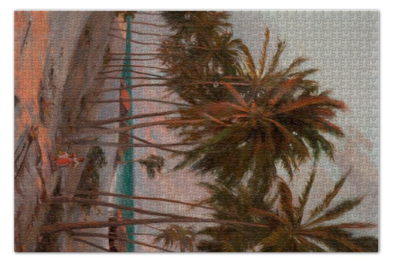 Пазл 73.5 x 48.8 (1000 элементов) Printio Пляж форталеза (аурелио де фигейредо) пазл 73 5 x 48 8 1000 элементов printio непорочное зачатие франсиско де сурбаран