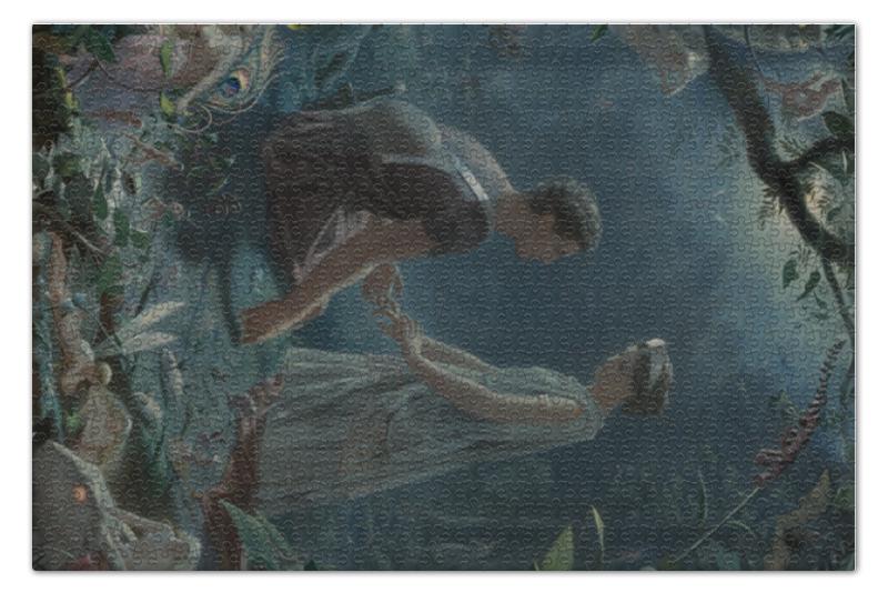 Пазл 73.5 x 48.8 (1000 элементов) Printio Гермия и лизандр (сон в летнюю ночь) сон в летнюю ночь 2018 08 24t14 30