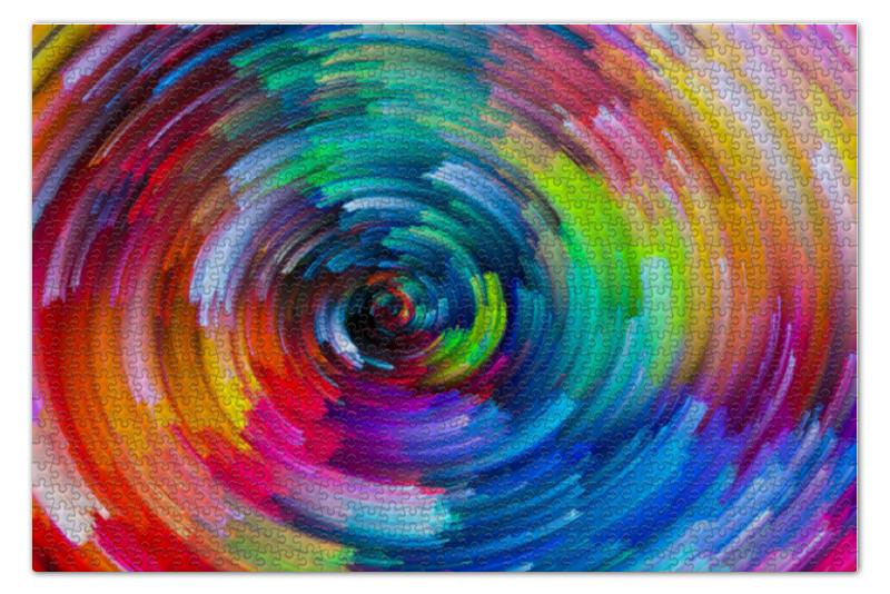 Пазл 73.5 x 48.8 (1000 элементов) Printio Красочная абстракция блокнот printio красочная абстракция