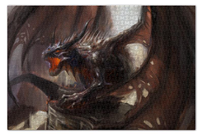 Пазл 73.5 x 48. (1000 элементов) Printio Дракон