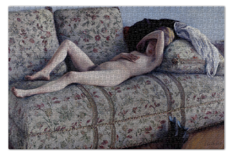 Printio Обнаженная женщина на диване