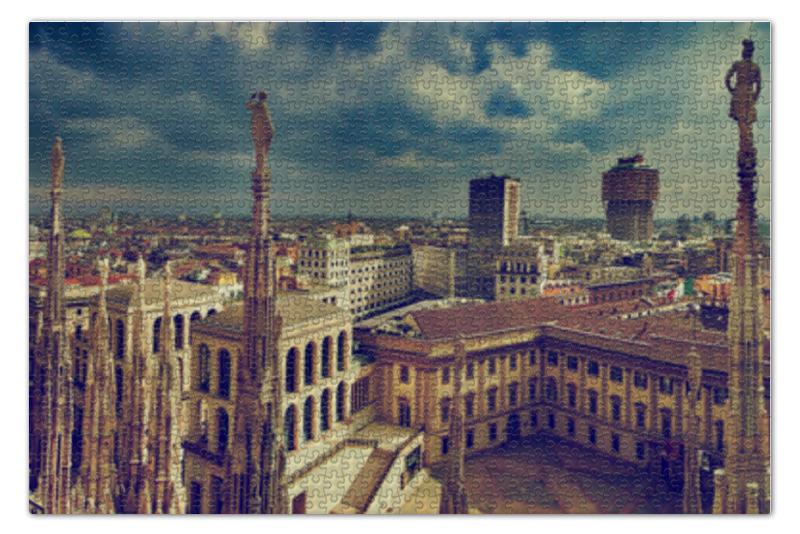 Пазл 73.5 x 48.8 (1000 элементов) Printio Милан пазл 73 5 x 48 8 1000 элементов printio сад земных наслаждений