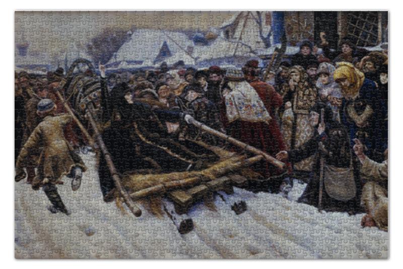 Пазл 73.5 x 48.8 (1000 элементов) Printio Боярыня морозова евгения морозова портрет из прошлого