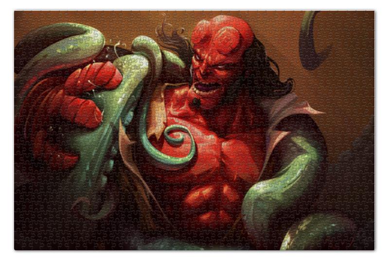 Printio Hellboy пазл 73 5 x 48 8 1000 элементов printio останкино