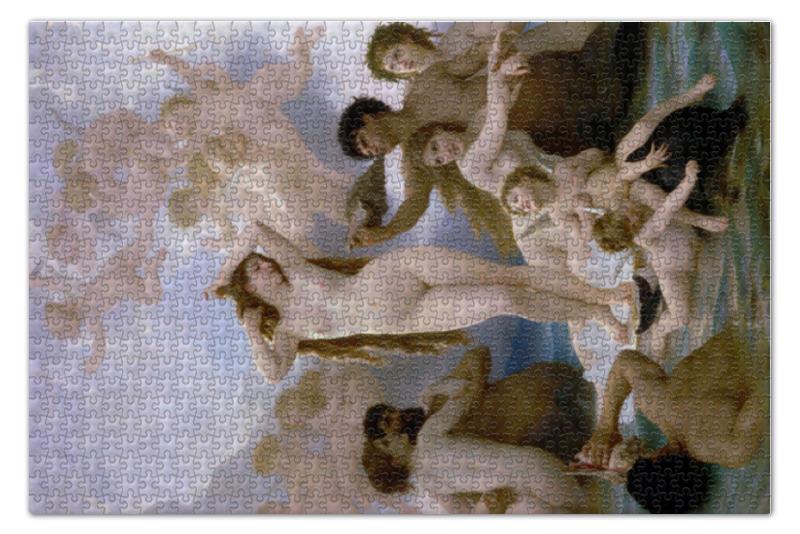 Пазл 73.5 x 48.8 (1000 элементов) Printio Рождение венеры (вильям бугро) масса для лепки candy clay набор круассан