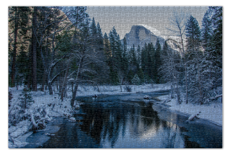 Пазл 73.5 x 48.8 (1000 элементов) Printio Yosemite national park пластиковый стакан treasure park xin 95 1000