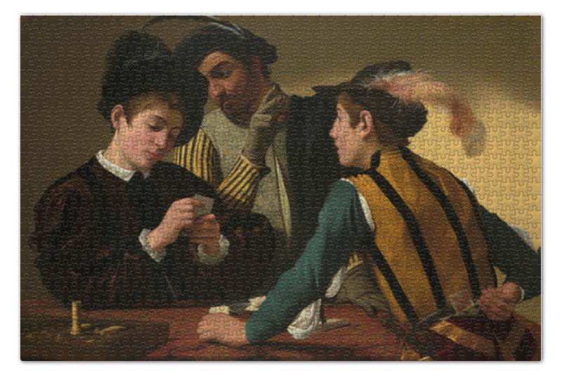 Пазл 73.5 x 48.8 (1000 элементов) Printio Шулеры (караваджо) караваджо