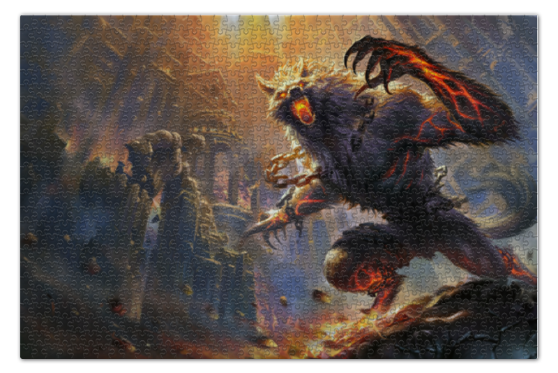 Пазл 73.5 x 48.8 (1000 элементов) Printio Werewolf