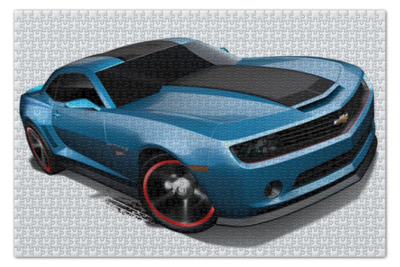Пазл 73.5 x 48.8 (1000 элементов) Printio Chevrolet camaro/ шевроле камаро футболка стрэйч printio chevrolet camaro