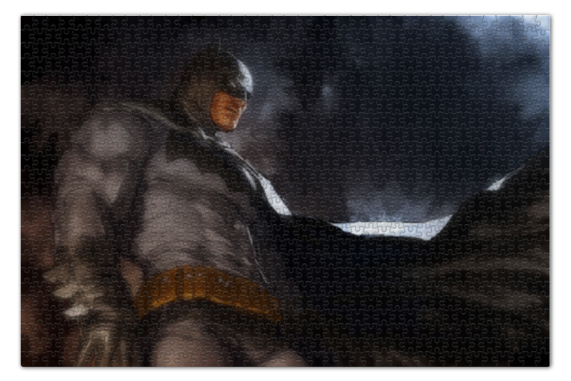 Пазл 73.5 x 48.8 (1000 элементов) Printio Бэтмен пазл 1000 томас кинкейд мост 57466