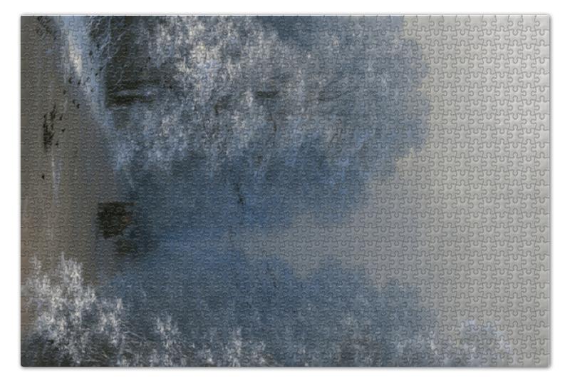 где купить Пазл 73.5 x 48.8 (1000 элементов) Printio Зимний пейзаж (айвазовский) по лучшей цене
