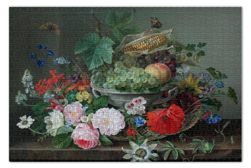 Пазл 73.5 x 48.8 (1000 элементов) Printio Фруктовый натюрморт (готфрид вильгельм фолькер) пазл 73 5 x 48 8 1000 элементов printio фруктовый сад весной