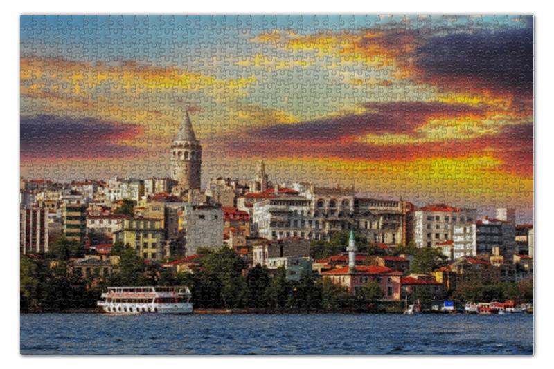 Пазл 73.5 x 48.8 (1000 элементов) Printio Турция пазл 73 5 x 48 8 1000 элементов printio сад земных наслаждений