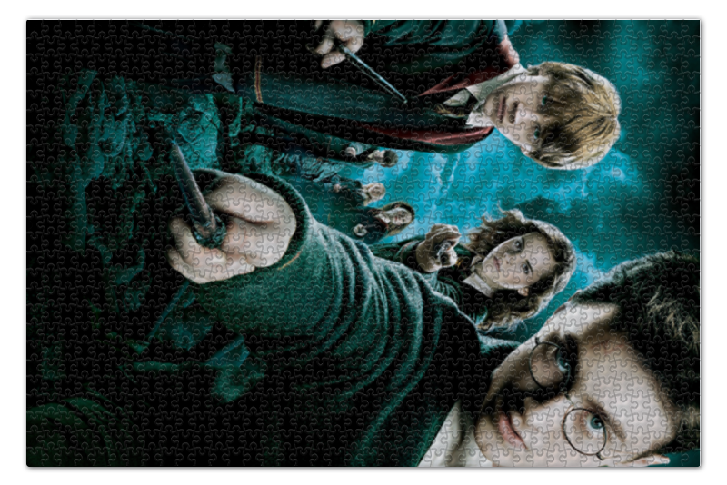 Пазл 73.5 x 48.8 (1000 элементов) Printio Гарри поттер пазл 73 5 x 48 8 1000 элементов printio спящая красавица