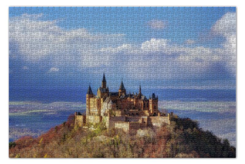 Пазл 73.5 x 48.8 (1000 элементов) Printio Замок гогенцоллерн пазл hatber металлик старинный замок собор в генте 1000 элементов