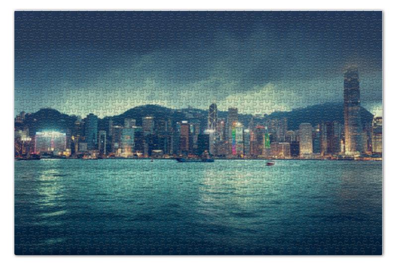 Пазл 73.5 x 48.8 (1000 элементов) Printio Гонконг пазл 73 5 x 48 8 1000 элементов printio спящая красавица