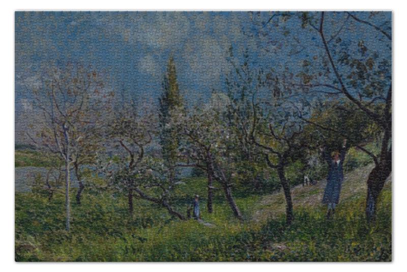 Пазл 73.5 x 48.8 (1000 элементов) Printio Фруктовый сад весной пазл 73 5 x 48 8 1000 элементов printio сад земных наслаждений