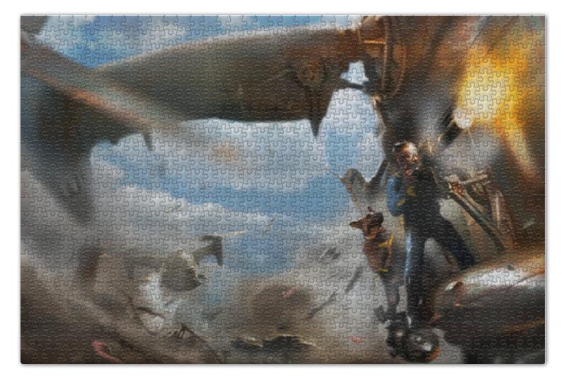 Пазл 73.5 x 48.8 (1000 элементов) Printio Fallout 4 пазл 73 5 x 48 8 1000 элементов printio сад земных наслаждений