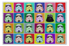 "Пазл 73.5 x 48.8 (1000 элементов) ""Star wars"" - star wars, darth vader, stormtrooper, дарт вейдер, штурмовик"
