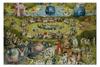 """Пазл 73.5 x 48.8 (1000 элементов) """"Сад земных наслаждений"""" - картина, сад, искусство, босх"""