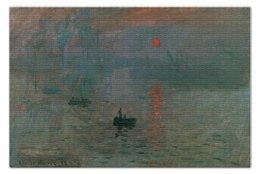 """Пазл 73.5 x 48.8 (1000 элементов) """"Впечатление. Восходящее солнце (Клод Моне)"""" - картина, моне"""