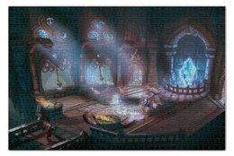 """Пазл 73.5 x 48.8 (1000 элементов) """"Mighty quest epic loot """" - воин, средневековье, замок, странник, сокровища"""