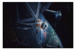 "Пазл 73.5 x 48.8 (1000 элементов) ""Star Wars"" - star wars, звездные воины, джедай, фантастика, империя"