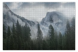 """Пазл 73.5 x 48.8 (1000 элементов) """"Йосемити"""" - california, калифорния, национальный парк"""