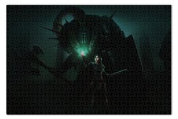 "Пазл 73.5 x 48.8 (1000 элементов) ""Dark Souls"" - рпг, dark souls, дарк соулс, маг, чародей"