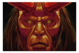 """Пазл 73.5 x 48.8 (1000 элементов) """"Hellboy"""" - комиксы, хеллбой, dark horse comics, хэллбой, comi"""