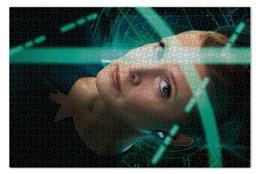 """Пазл 73.5 x 48.8 (1000 элементов) """"Звездные войны - Лея"""" - кино, фантастика, star wars, звездные войны, дарт вейдер"""
