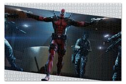 "Пазл 73.5 x 48.8 (1000 элементов) ""Дэдпул (Deadpool)"" - комиксы, deadpool, марвел, дэдпул"