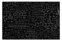 "Пазл 73.5 x 48.8 (1000 элементов) ""Химия"" - химия, формулы, биологи, медицина"